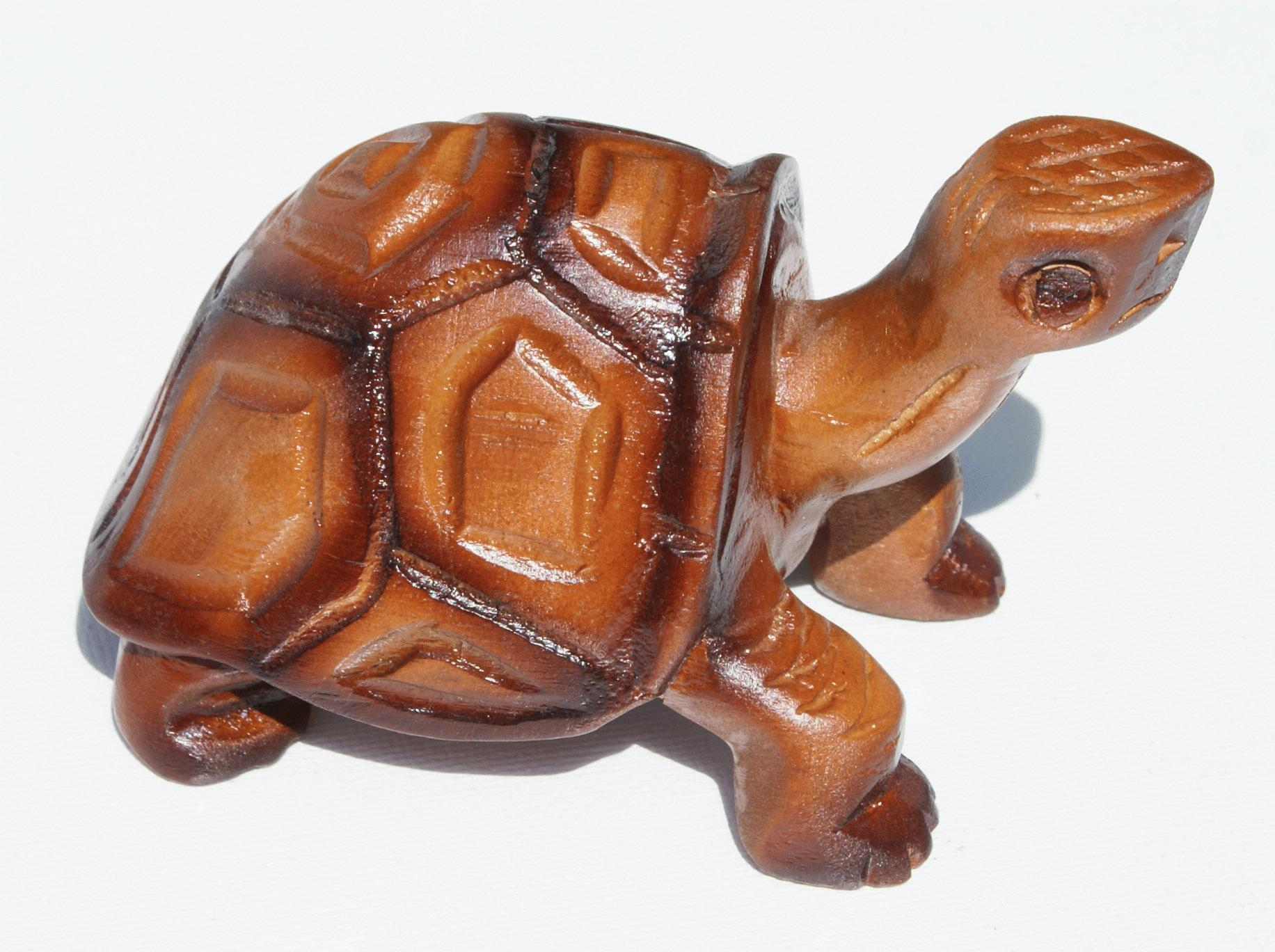 Wooden turtle crafts from ecuador - Esculturas en madera ...