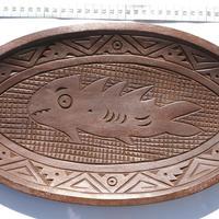 魚のプレート
