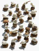 Tagua Figurines