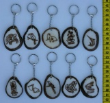 Tagua Schlüsselanhänger