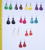 Color Tagua Earrings