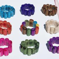 Tagua bead bracelets