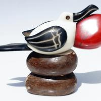 Water bird figurine