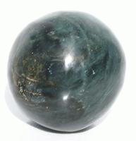 Jade sten bollen