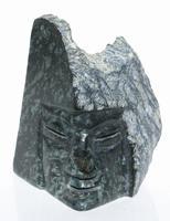 Máscara de piedra de Jade