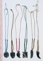 Jade stone pendants