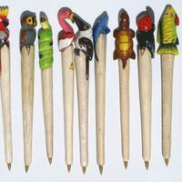 Balsa bolígrafos de madera