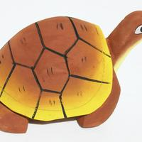 Balsa Holz Schildkröte