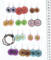 Small horsehair earrings