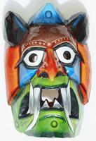 Máscara madera diablo