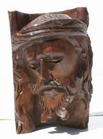 Jesus Kristus trä-carving