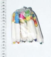 10 cranones de colores pequeños