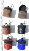Round coin purses