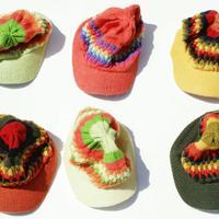 アルパカ帽子
