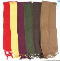 Färg alpacka scarfs