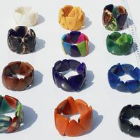 Färg tagua armband