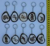 Tagua Nyckelringar
