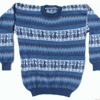Azul Sweater de Alpaca