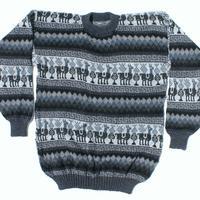 Negro alpaca sweater