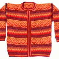 Jersey de color naranja