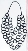 Toquilla straw necklace