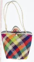 Toquilla halm handväskan