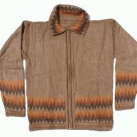 Brown alpaca sweater