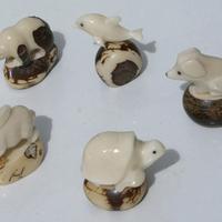 Figuras animales tagua