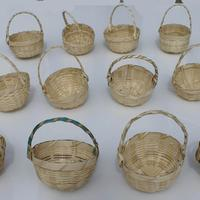 Handmade small baskets