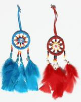 Colorful dream catchers