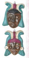 Masques en céramique