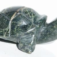 Jade sten sköldpadda
