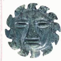 Sun of jade stone