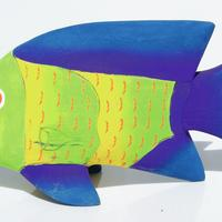 Balsa de pescado de madera