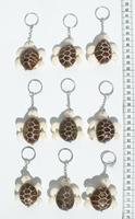 Tagua Schildkröte Schlüsselanhänger