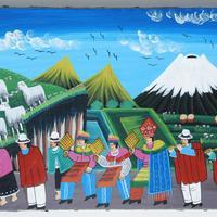 Ceremonia de la pintura de Tigua