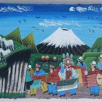 Tigua art de l'Équateur