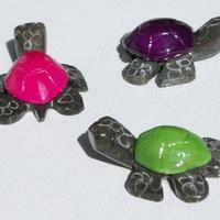 Las pequeñas tortugas marmol