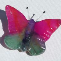 Fjäril av marmol