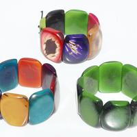 Bracelets de noix de tagua