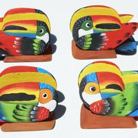 Napkin holder toucan