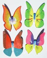 Balsa butterflies