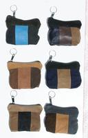 Läder mynt plånböcker
