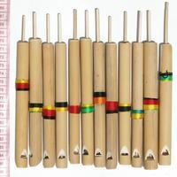 Sifflets de bambou