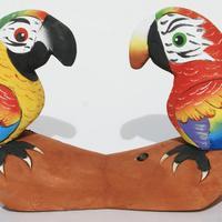 Två papegojor