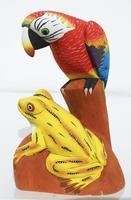 Parrot et la grenouille