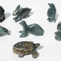 Jade stone animals