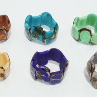 Bracelets de perles de tagua