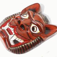 Máscara de madera de León