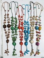 Tagua nut necklaces